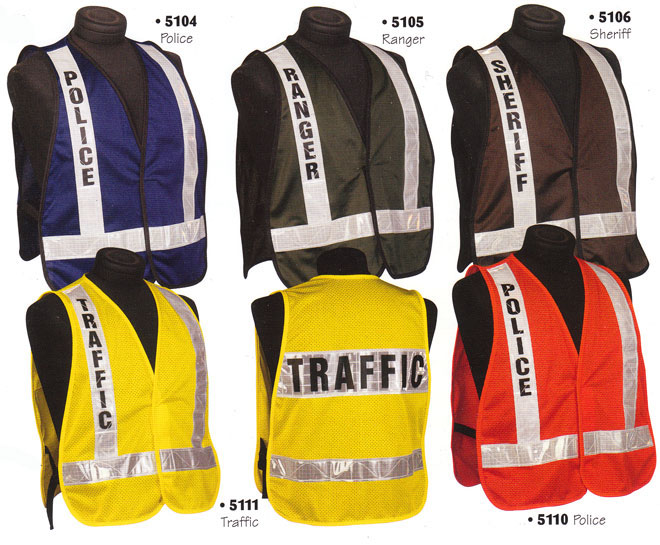 Homeland Security Emergency Services Incident Command Police Fire Safety  Vests d4991f4177c