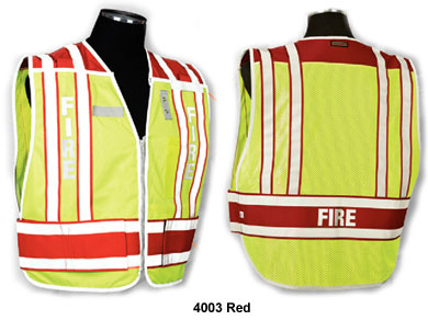 Homeland Security Emergency Services Incident Command Police Fire Safety Vests