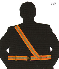 Fluorescent Safe Belts High visibility Safety Wear