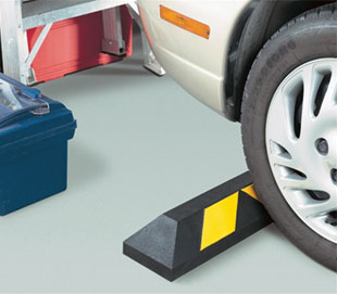 Garage Recycled Rubber Parking Blocks