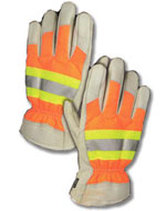 Fluorescent Work And Safety Gloves Hats Reflective High Visibility