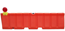 Heavy Duty Low Profile Airport Jersey Barriers Barricades