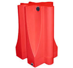 Heavy Duty Jersey Water Barriers And Safety Barricades