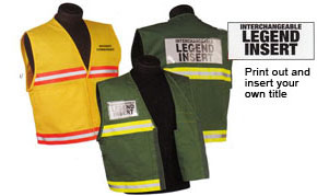 4000 Series Homeland Security Public Safety Incident Command Police Fire Safety Vests
