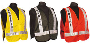 5100 Series Homeland Security Public Safety Incident Command Police Fire Safety Vests