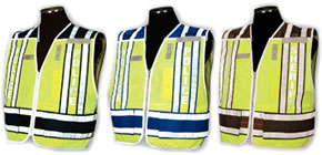 400 Series Homeland Security Public Safety Incident Command Police Fire Safety Vests