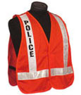 Emergency Service and Incident Command Police Fire Safety Homeland Security Vests