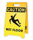 Safety Signs And Stands Fluorescent Emblems Banners