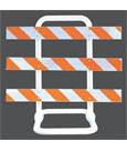 Type III Sentinel Heavy Duty Jersey Water Barriers And Safety Barricades