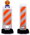 Heavy Duty Jersey Water Barriers And Safety Barricades Vertical Panel