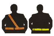 High Visibility Fluorescent Safety Belts
