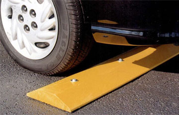 Solid Plastic Speed Bumps Speed Humps