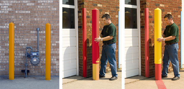 Post Sleeve Bollard Covers Delineator Posts Channelizers Markers