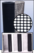 Specialty Square Mesh Safety Plastic Fencing And Netting