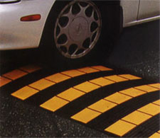 Safety Rider Rubber Speed Bumps Speed Humps And Parking Blocks