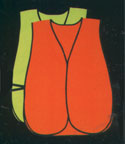 Mesh And Solid Value Reflective High Visibility Safety Vests