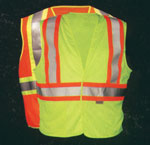 High Visibility Reflective Hook And Loop Safety Vests